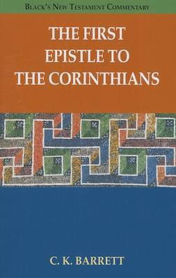 The First Epistle to the Corinthians