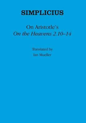 On Aristotle's  On the Heavens 2.10-14