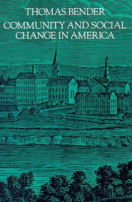 Community and Social Change in America