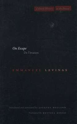 On Escape: De l'evasion