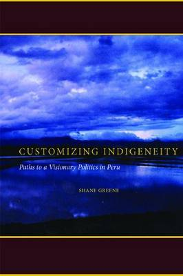 Customizing Indigeneity: Paths to a Visionary Politics in Peru