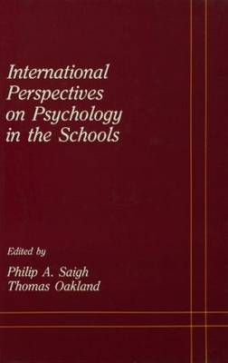 International Perspectives on Psychology in the Schools