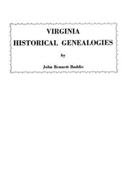 Virginia Historical Genealogies