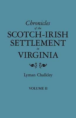 Chronicles of the Scotch-Irish
