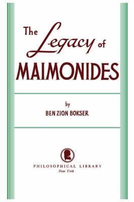 Legacy of Maimonides