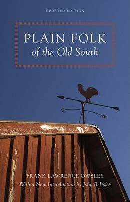 Plain Folk of the Old South