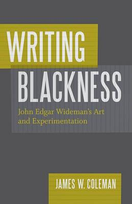 Writing Blackness: John Edgar Wideman's Art and Experimentation