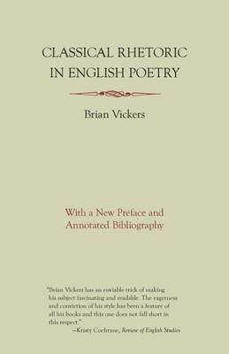 Classical Rhetoric in English Poetry