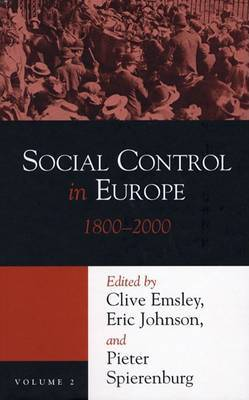 Social Control in Europe, 1800-2000