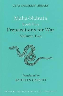 Mahabharata Book Five (Volume 2): Preparations for War