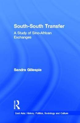 South-south Transfer: A Study of Sino-African Exchanges