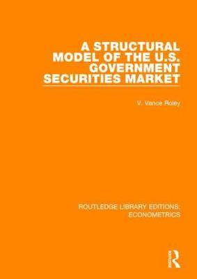 A Structural Model of the U.S. Government Securities Market
