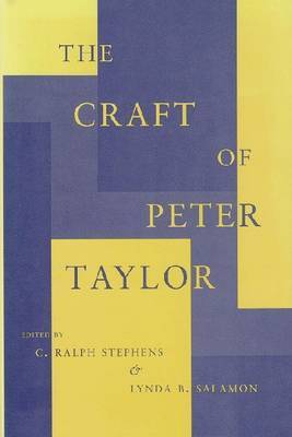 The Craft of Peter Taylor