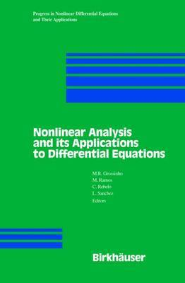 Nonlinear Analysis and its Applications to Differential Equations