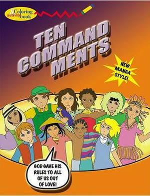 The Ten Commandments Coloring & Activity Book