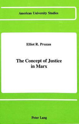 The Concept of Justice in Marx