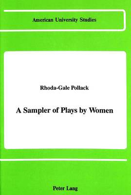 A Sampler of Plays by Women
