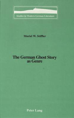 The German Ghost Story as Genre