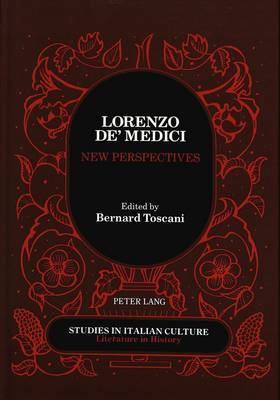 Lorenzo de' Medici New Perspectives: Proceedings of the International Conference Held at Brooklyn College and the Graduate Center of the City University of New York, April 30-May 2, 1992
