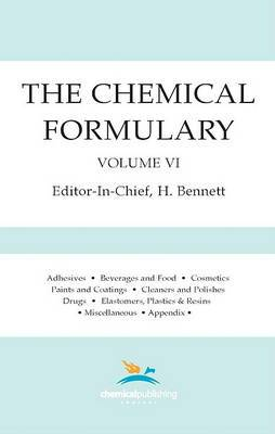 The Chemical Formulary, Volume 6