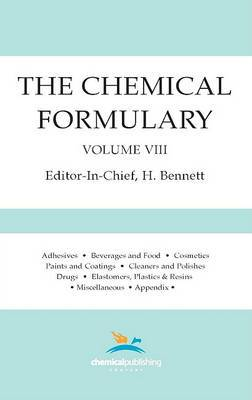 The Chemical Formulary, Volume 8