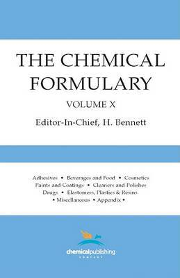 The Chemical Formulary, Volume 10