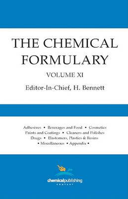 The Chemical Formulary, Volume 11