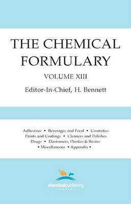 The Chemical Formulary, Volume 13