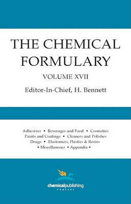 The Chemical Formulary, Volume 17