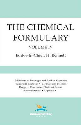 The Chemical Formulary, Volume 4