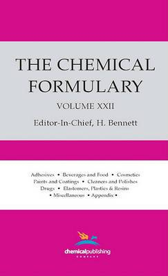 The Chemical Formulary Volume 22