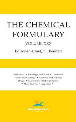 The Chemical Formulary, Volume 30