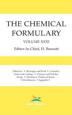 The Chemical Formulary, Volume 31