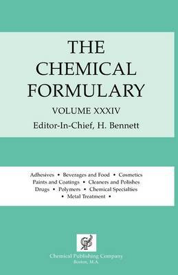 The Chemical Formulary Vol. 34