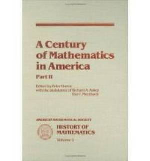 A Century of Mathematics in America, Part 2