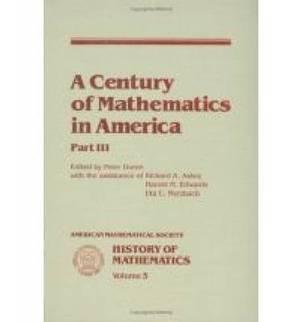 A Century of Mathematics in America: Pt. 3