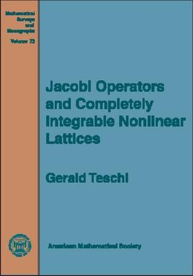 Jacobi Operators and Completely Integrable Nonlinear Lattices