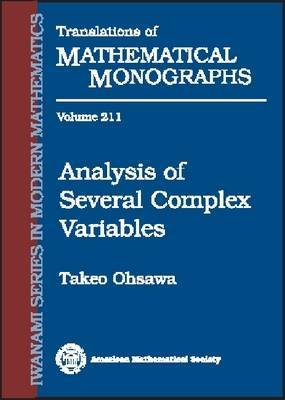 Analysis of Several Complex Variables