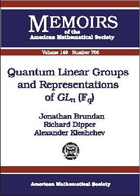 Quantum Linear Groups and Representations of GLn(Fq)