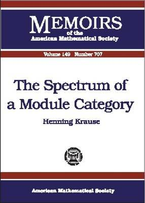 The Spectrum of a Module Category