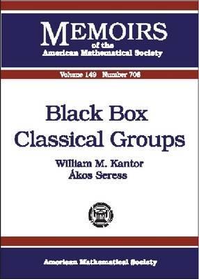 Black Box Classical Groups