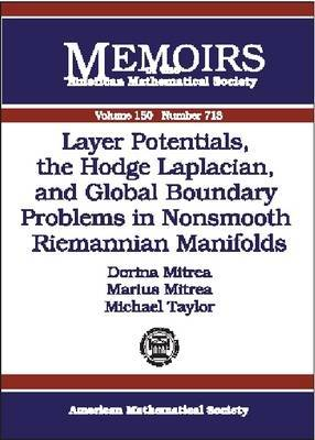 Layer Potentials, the Hodge Laplacian and Global Boundary Problems in Nonsmooth Riemannian Manifolds