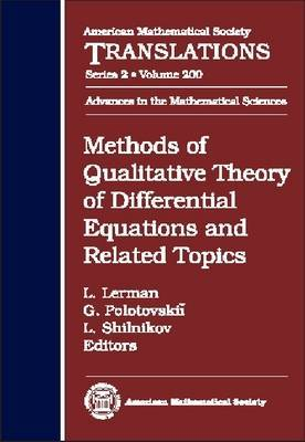 Methods of Qualitative Theory of Differential Equations and Related Topics