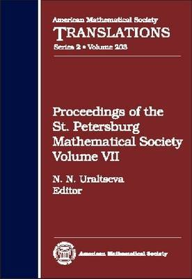 Proceedings of the St Petersburg Mathematical Society, Volume 7