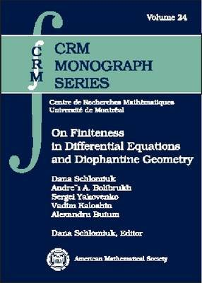 On Finiteness in Differential Equations and Diophantine Geometry