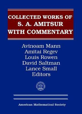 Selected Papers of S.A.Amitsur with Commentary: v. 2