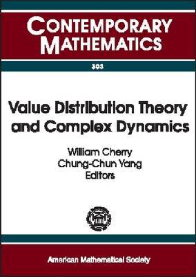 Value Distribution Theory and Complex Dynamics: Proceedings of the Special Session on Value Distribution Theory and Complex Dynamics Held at the First Joint International Meeting of the American Mathematical Society and the Hong Kong Mathematical Society