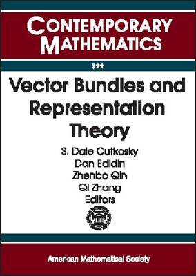 Vector Bundles and Representation Theory: Conference on Hilbert Schemes, Vector Bundles, and Their Interplay with Representation Theory, April 5-7, 2002, University of Missouri, Columbia