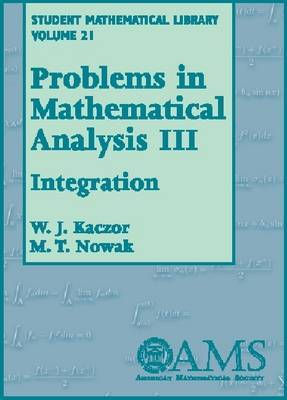 Problems in Mathematical Analysis: Integration