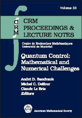 Quantum Control: Mathematical and Numerical Challenges